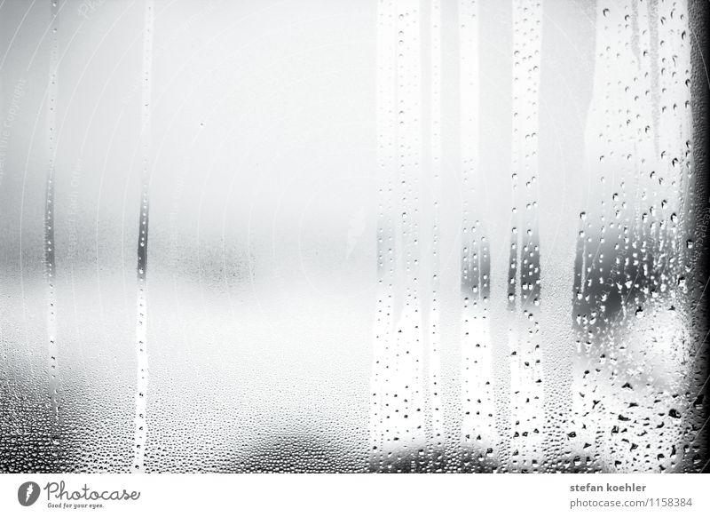 Regen am Fenster Ferien & Urlaub & Reisen Wasser Einsamkeit Winter dunkel Traurigkeit Herbst Schnee Tod Schneefall Wetter Glas Wassertropfen nass Trauer