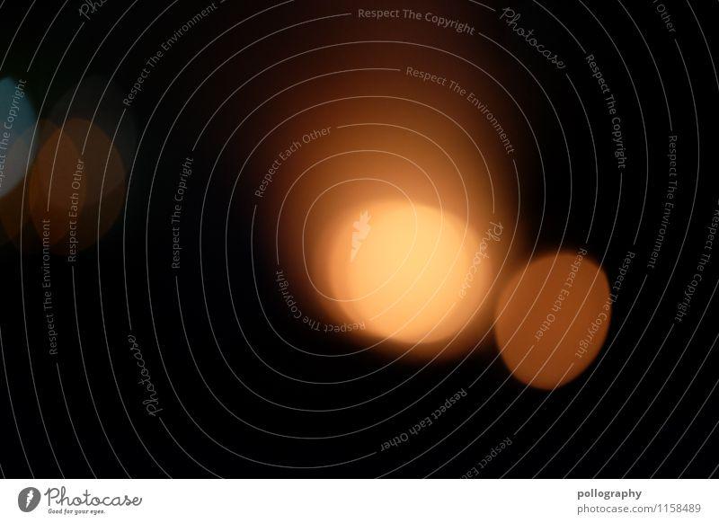 bokeh orange Zeichen rund Lichtspiel Lichtschein Lichtpunkt lichtvoll Lichtkreis