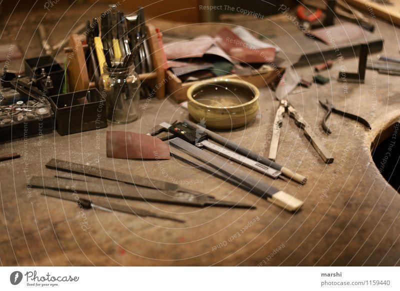 Arbeitsplatz - Schmiedekunst Freude Stimmung Arbeit & Erwerbstätigkeit Freizeit & Hobby Beruf Werkstatt Werkzeug Handwerker Schleife Zange schmieden