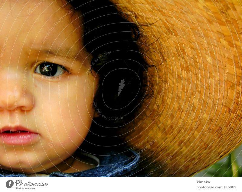 Chiniquicuicui III Mädchen blau Gesicht Auge Kleinkind Mexiko