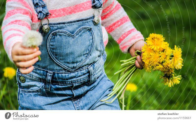 Muttertag | Mother's Day Mensch Kind Natur blau grün Blume Freude gelb Liebe Frühling feminin Gras Glück Feste & Feiern Geburtstag Fröhlichkeit