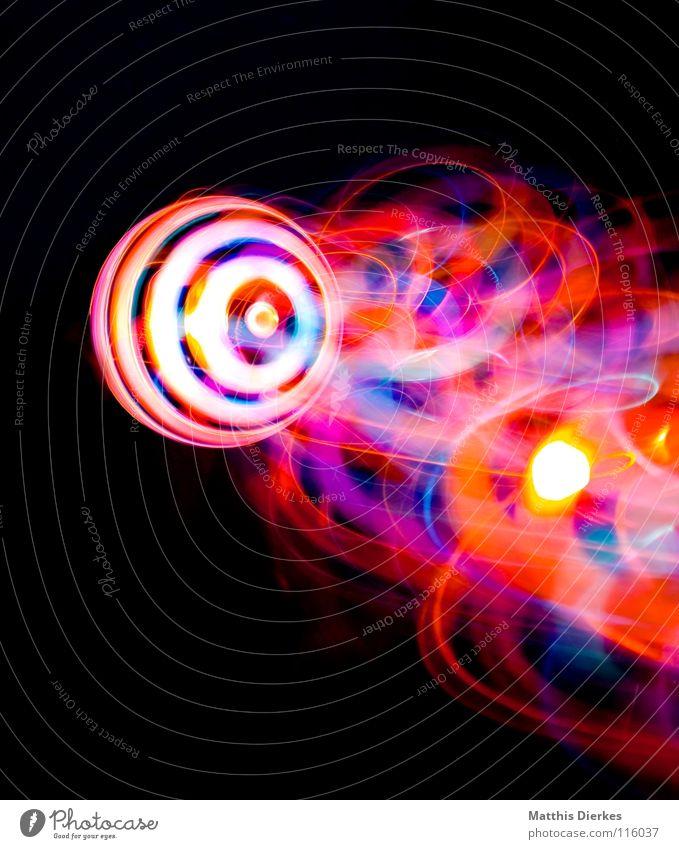 Komet III Farbe Traurigkeit Beleuchtung Hintergrundbild Party Lampe glänzend leuchten Erde hoch Geschwindigkeit Kreis Flugzeug Weltall Symbole & Metaphern