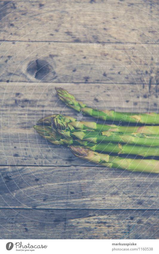 grüner spargel asparagus Garten frisch Gemüse Bioprodukte Vegetarische Ernährung Spargel Slowfood Guerilla