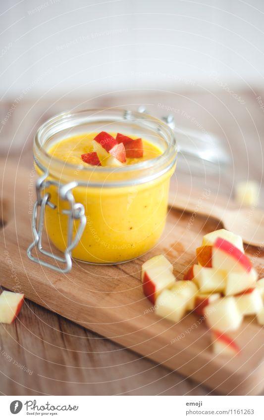 Suppe Frucht Apfel Eintopf Ernährung Bioprodukte Vegetarische Ernährung Fasten frisch Gesundheit lecker Farbfoto Innenaufnahme Menschenleer Textfreiraum oben