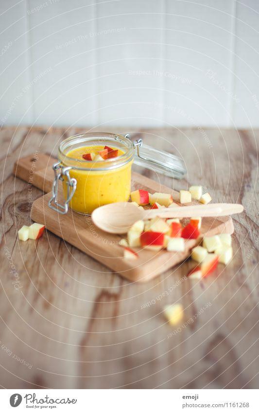 fruchtiges Süppchen Gemüse Frucht Apfel Suppe Eintopf Ernährung Vegetarische Ernährung frisch Gesundheit lecker Farbfoto Innenaufnahme Menschenleer