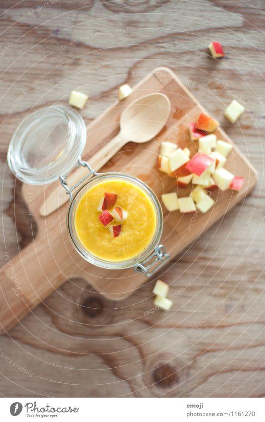 Süppchen Gemüse Frucht Apfel Suppe Eintopf Ernährung Picknick Bioprodukte Vegetarische Ernährung Diät frisch Gesundheit lecker Farbfoto Innenaufnahme