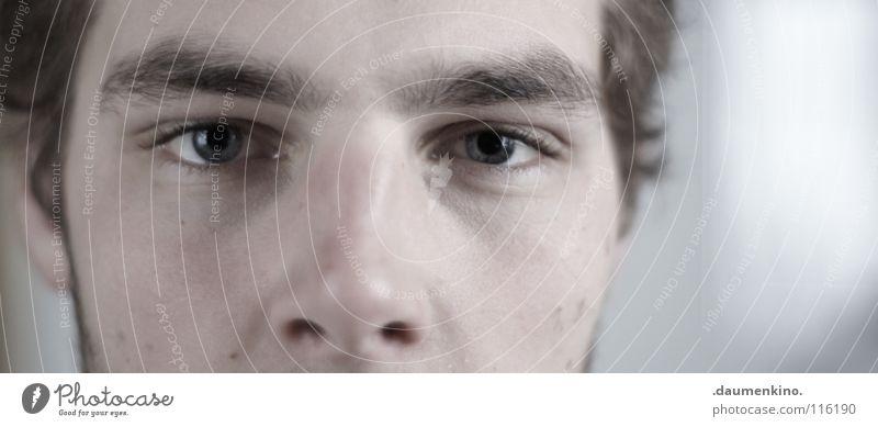 quadratur des kreises Mann Wimpern Bart Konzentration Kraft Mensch bursch Auge Ohr Haut Haare & Frisuren Nase Stoppel Blick