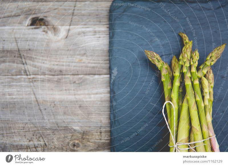 grüner spargel Gesunde Ernährung Leben Essen Garten Lebensmittel Lifestyle Häusliches Leben Gemüse Duft Bioprodukte Reichtum Diät Vegetarische Ernährung Spargel