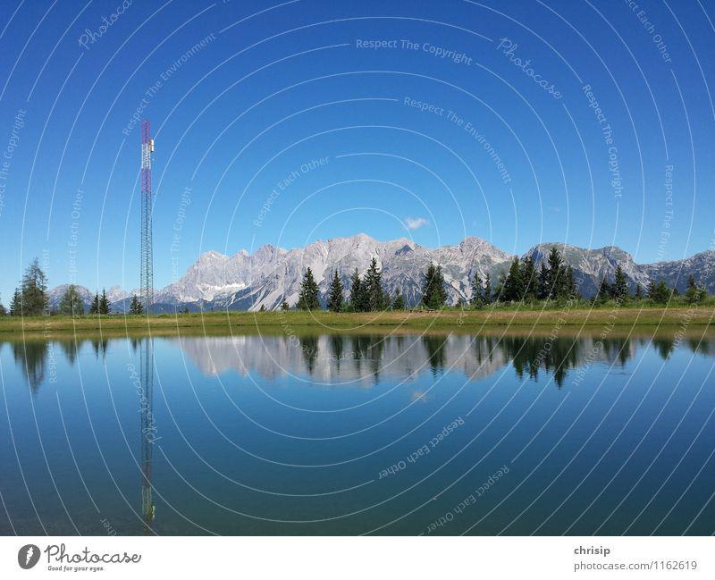 --¦^^^-- Telekommunikation Umwelt Natur Landschaft Wasser Himmel Wolken Sonnenlicht Klima Wetter Schönes Wetter Baum Gras Felsen Alpen Berge u. Gebirge