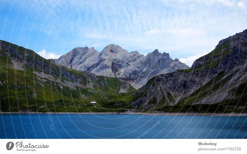 Der heilige Gral Himmel Natur Pflanze blau grün Sommer Wasser weiß Blume Landschaft Wolken schwarz kalt Berge u. Gebirge Umwelt Gras