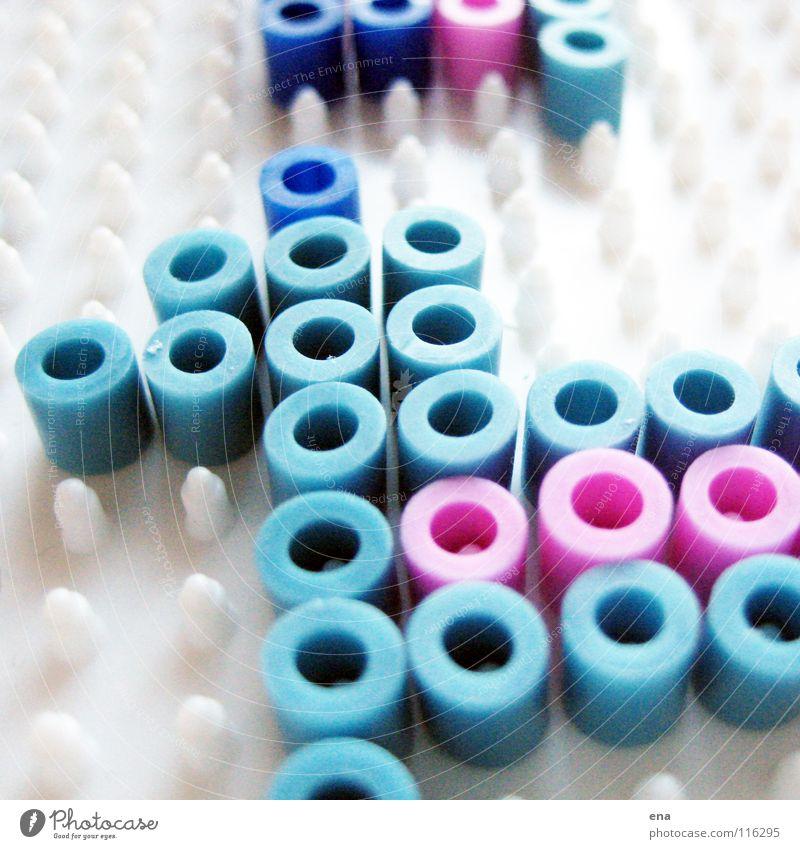 Verschluckbare Kleinteile II Spielen rosa Freizeit & Hobby Kindheit Perle verbinden Basteln schmelzen Noppe Relief passend