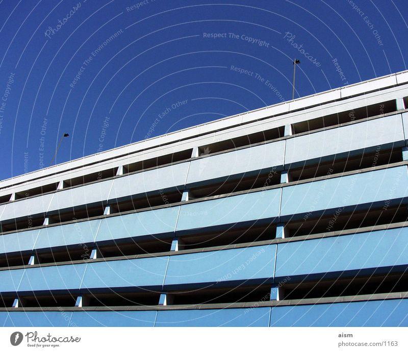 Parkhaus Architektur Tiefgarage