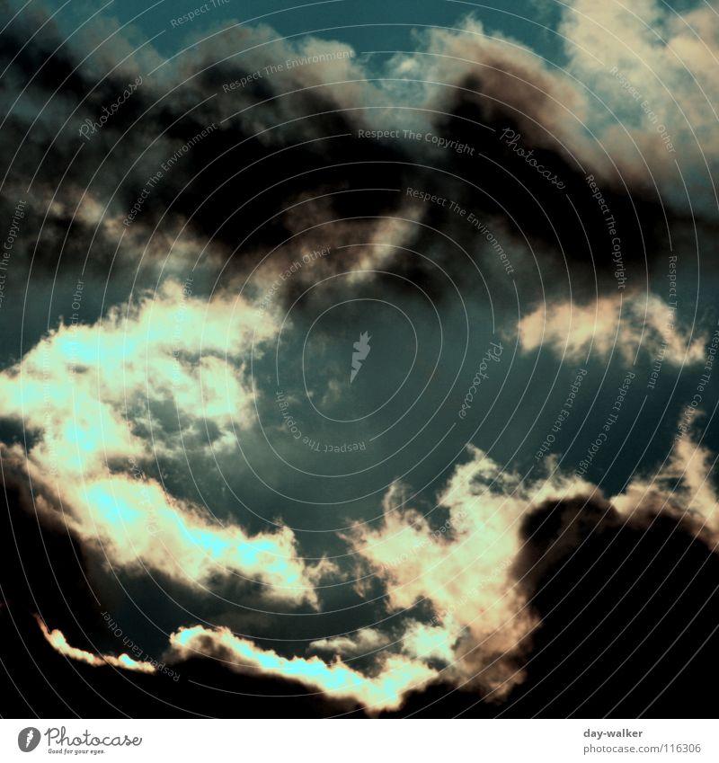 düstere Zeiten Himmel Natur Sonne Wolken dunkel hell Regen Wetter Streifen grell Kumulus Tiefdruckgebiet Stratosphäre