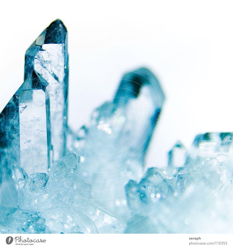 Bergkristall Stein glänzend Dekoration & Verzierung rein Medikament durchsichtig Material Alternativmedizin Kristallstrukturen Kristalle Eiskristall Heilung