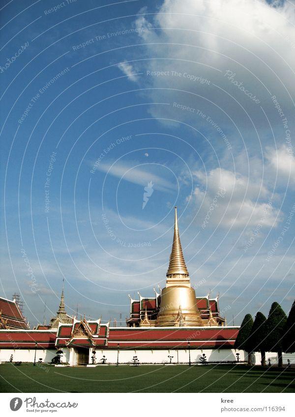 Wat Phra Kaew Bangkok Thailand Asien Temple Emerald Buddha Grand Palace