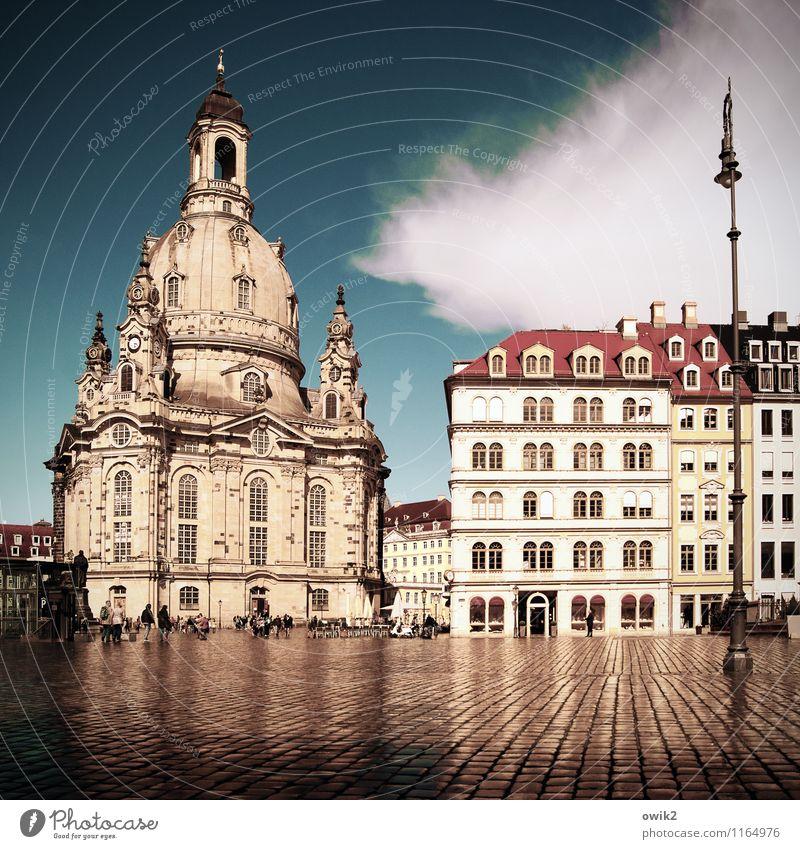 Bethaus Himmel Ferien & Urlaub & Reisen Stadt Wolken Haus Architektur Gebäude Religion & Glaube Deutschland Fassade Tourismus hoch groß Ausflug nass
