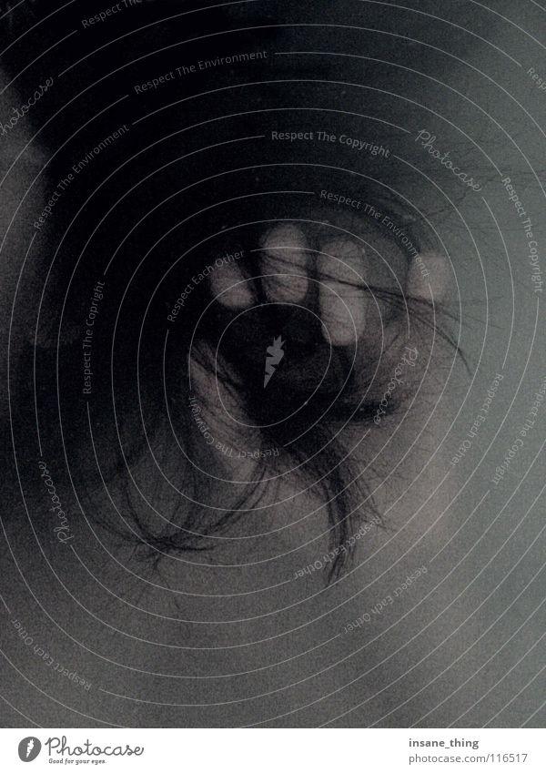 Dead Leiche Hand schwarz Schwarzweißfoto ertrunken Tod Wasser Haare & Frisuren