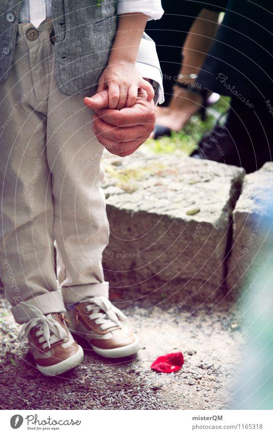 Ein schöner Tag III Kunst ästhetisch Rosenblätter Hochzeit Hochzeitstag (Jahrestag) Hochzeitszeremonie Hochzeitsgesellschaft Kindheit Zeremonie Hand