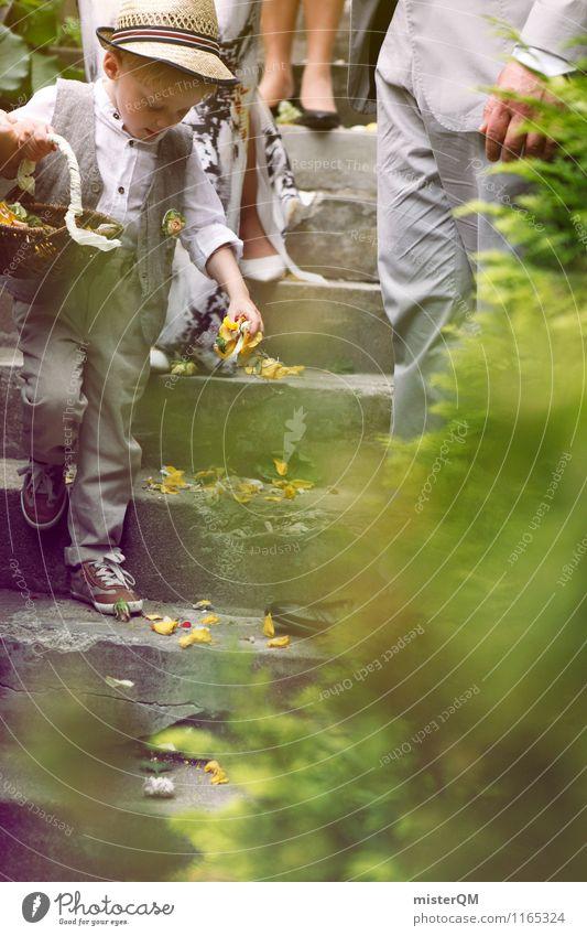 Streuwahn II Kunst ästhetisch Hochzeit Hochzeitspaar Hochzeitstag (Jahrestag) Hochzeitszeremonie Hochzeitsgesellschaft Blume Zeremonie Treppe Farbfoto