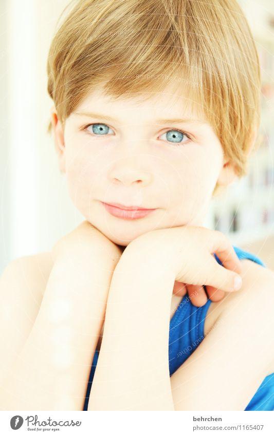 engel... Kind blau schön Hand Gesicht Auge Liebe Junge Glück Haare & Frisuren Familie & Verwandtschaft Kopf träumen Zufriedenheit Kindheit blond