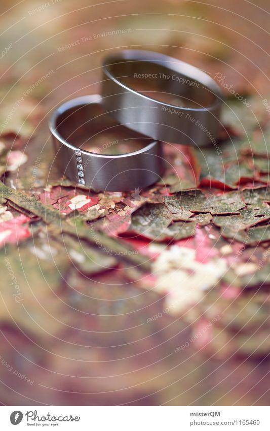 Hochzeitsringe II Kunst ästhetisch Zufriedenheit Ring Hochzeitszeremonie Hochzeitsgesellschaft Zusammensein Zusammenhalt Symbole & Metaphern Rost Farbfoto