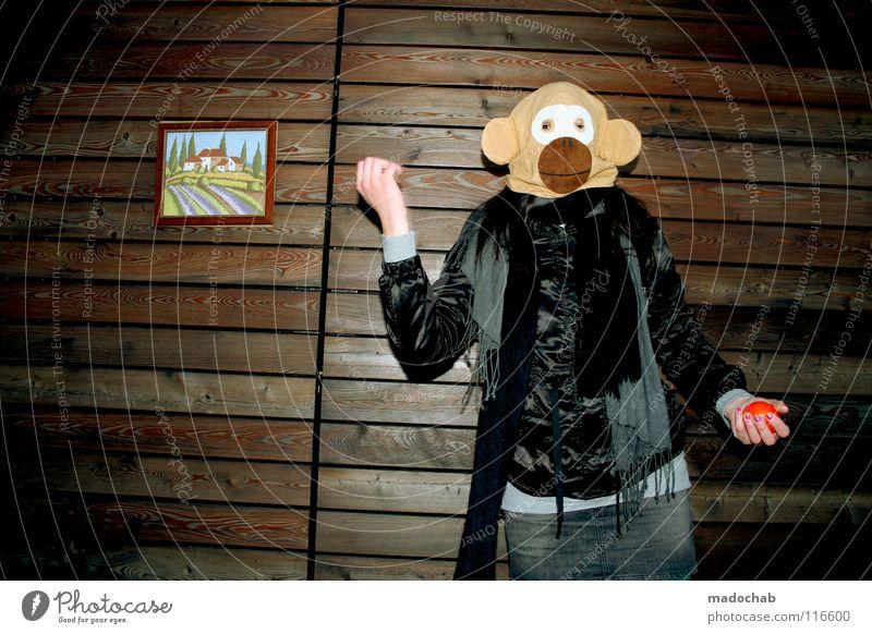 DAS NEUE UND DAS ALTE Mensch Frau Jugendliche Hand Freude Tier Einsamkeit Haus Ferne kalt Wand Holz Bewegung Traurigkeit Gebäude lustig
