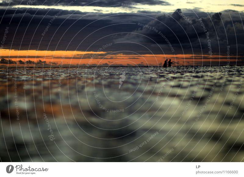 12 Umwelt Natur Landschaft Urelemente Luft Wasser Himmel Wolken Gewitterwolken Horizont Klima Wetter Meer Vorfreude Mut Akzeptanz Vertrauen Gelassenheit