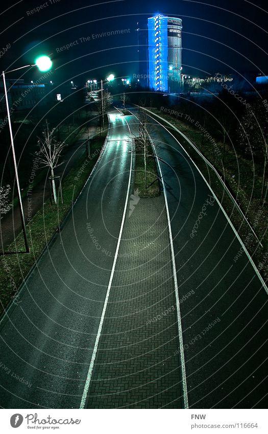 road to... Saarland Gasometer Industrie street blau neunkirchen fnw