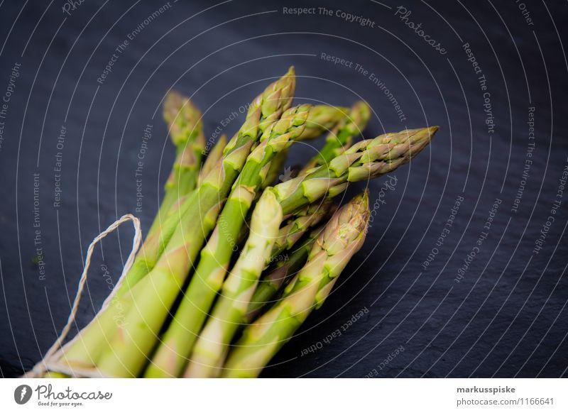 grüner spargel Lebensmittel Gemüse Spargel Bioprodukte Vegetarische Ernährung Diät Slowfood Gesundheit Gesunde Ernährung Häusliches Leben Garten
