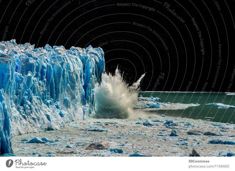Das wachsen der Gletscher Ferien & Urlaub & Reisen Tourismus Ausflug Abenteuer Ferne Freiheit Kreuzfahrt Expedition Winter Schnee Winterurlaub Berge u. Gebirge