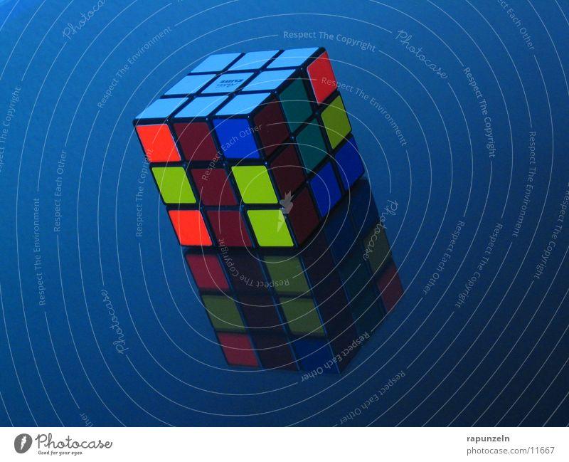 Rubik's in Blue blau Spiegel Dinge Würfel Verlauf