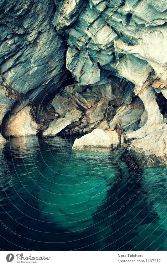 Höhlenwelten. Ferien & Urlaub & Reisen Tourismus Ferne Umwelt Natur Landschaft Erde Wasser Klima Felsen Berge u. Gebirge Gletscher Küste Seeufer Bucht Meer blau