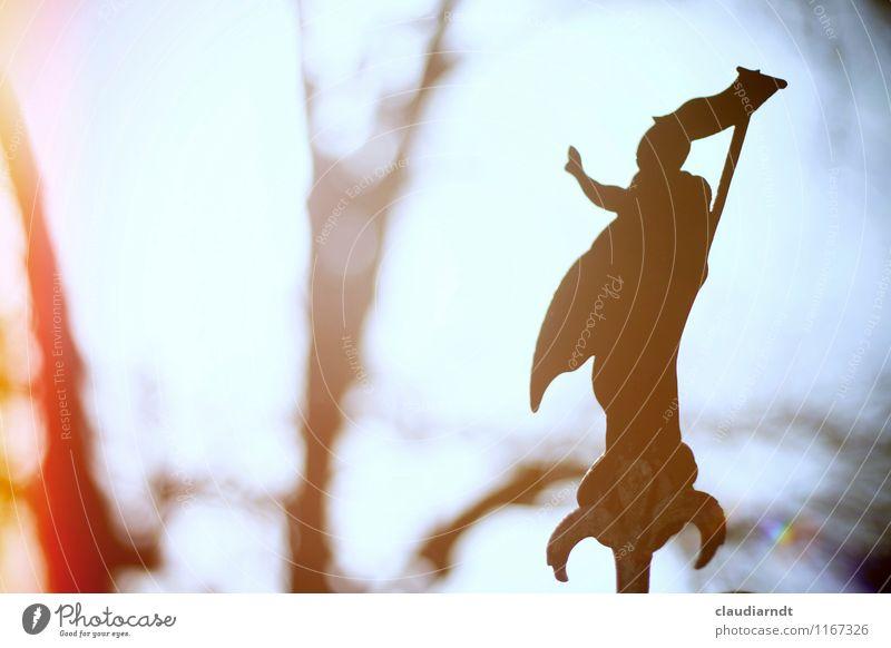 Auferstehung Ostern Metall Zeichen Ornament Kreuz Vertrauen Trauer Tod Leben Jesus Christus auferstehen Friedhof Grabmal Erfolg Hand Gott Christentum