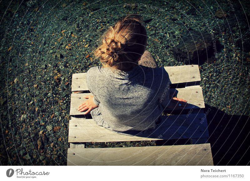 Patagonien Chill Out Mensch Frau Natur Ferien & Urlaub & Reisen Jugendliche Wasser Junge Frau Meer Landschaft Mädchen Erwachsene Umwelt Leben feminin Küste