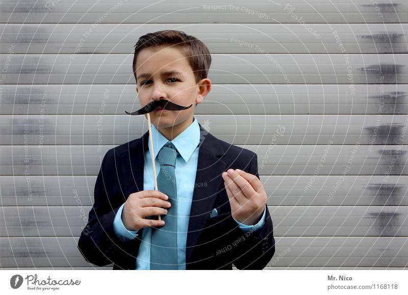 was du wolle ? Lifestyle Stil Freizeit & Hobby maskulin Junge Hand Finger Mode Anzug Krawatte Oberlippenbart Gelassenheit gestikulieren Körpersprache Italiener