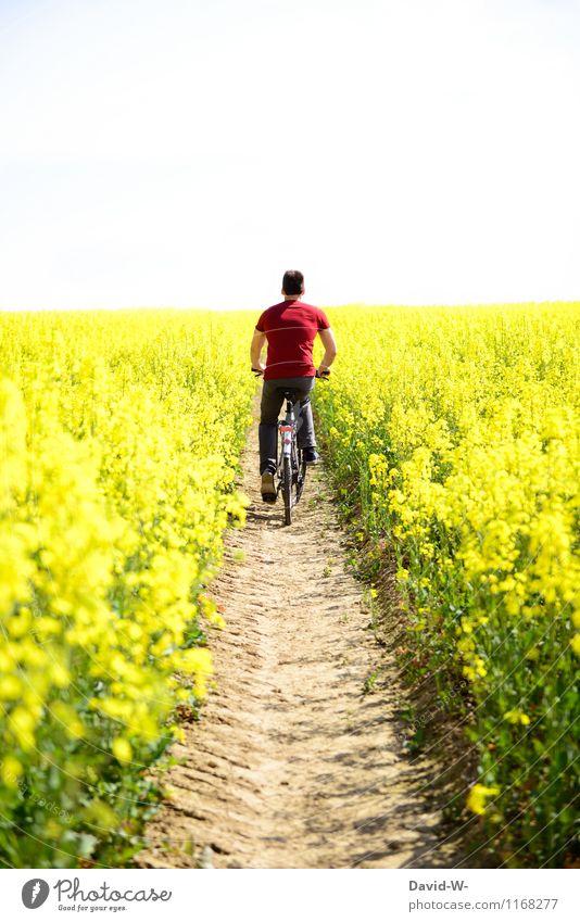 Der Weg in Paradies Gesundheit Ferien & Urlaub & Reisen Tourismus Ausflug Abenteuer Mensch maskulin Junger Mann Jugendliche Erwachsene Leben Umwelt Natur