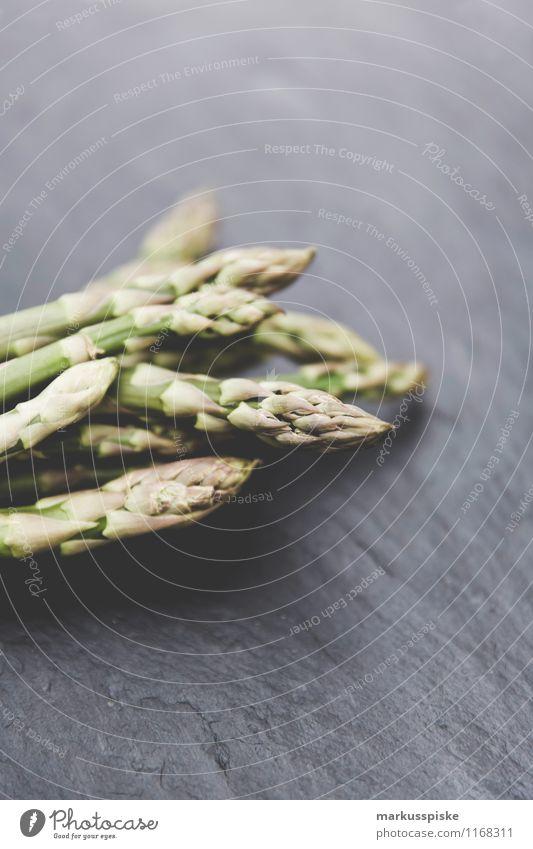 grüner spargel Gesunde Ernährung Leben Garten Lebensmittel frisch Gemüse Duft Bioprodukte Reichtum Diät Vegetarische Ernährung Spargel Slowfood Guerilla