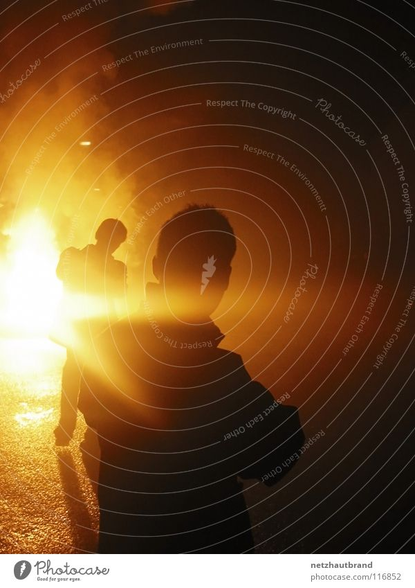 Wenn die Bundeswehr Silvester feiert Gegenlicht Krieg Panik heiß Physik schmelzen zünden gleißend Erdbeben Explosion splittern Nacht Silvester u. Neujahr