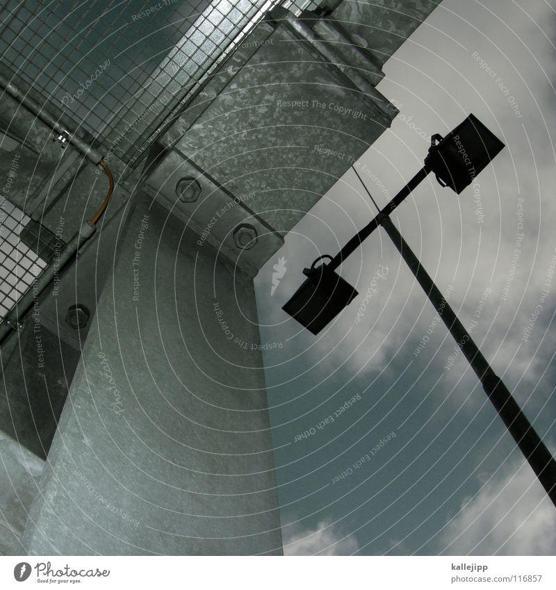 T Aluminium Blech Lüftung Hochhaus Belüftung Lüftungsschacht Parkdeck Naht Schweißen rund gekrümmt Wolken Luft Ecke Dinge Design NASA Space Shuttle UFO