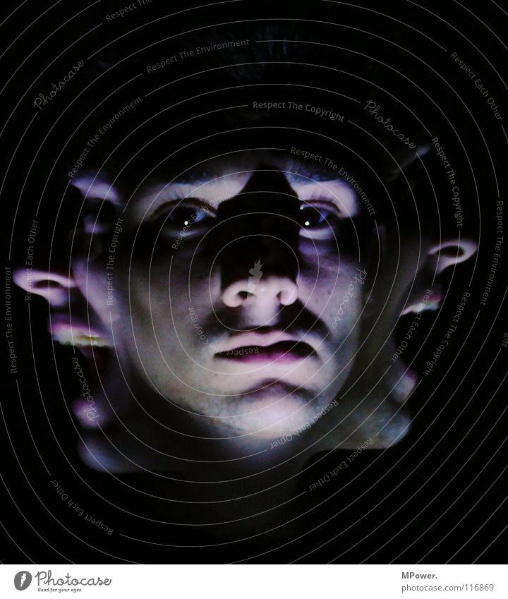Dämon´s are for ever... Mann Gesicht Angst maskulin schreien Geister u. Gespenster Panik unheimlich
