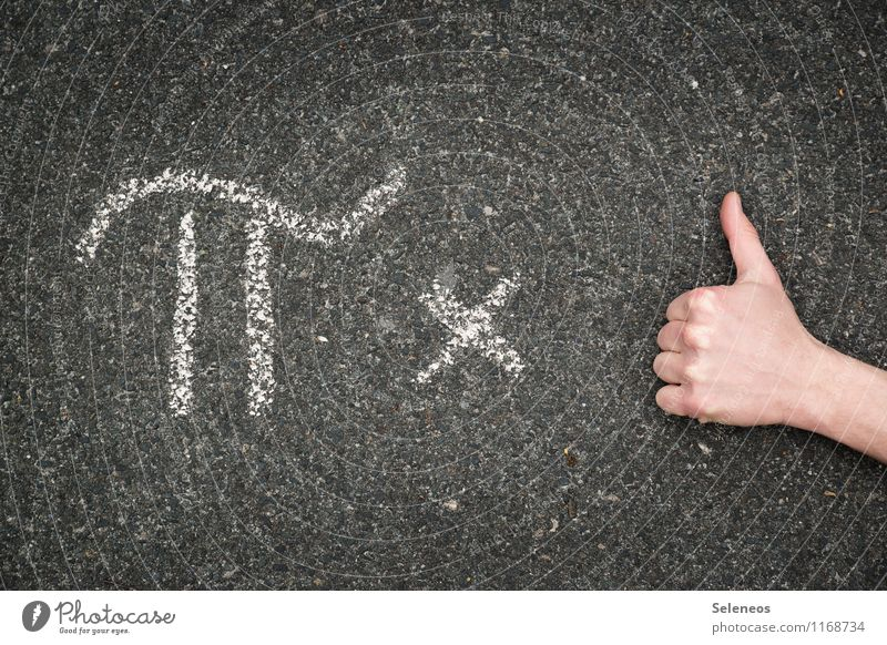 oder so Hand Schule Schriftzeichen lernen Finger Studium Zeichen Ziffern & Zahlen nah Verstand Bildung Erwachsenenbildung Wissenschaften Tafel Berufsausbildung