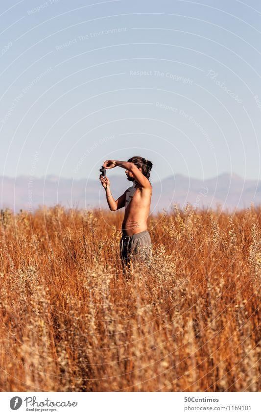 Reisefotografie - Travel photography Mensch Natur Ferien & Urlaub & Reisen Jugendliche Mann nackt Sommer Sonne Junger Mann ruhig Ferne Erwachsene