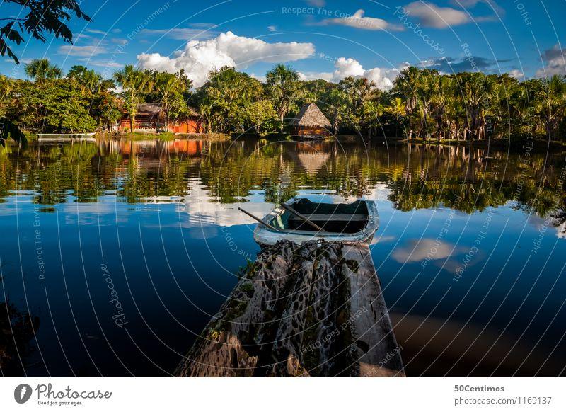 der Dschungel - Amazonas von Peru Ferien & Urlaub & Reisen Tourismus Ausflug Abenteuer Ferne Freiheit Expedition Camping Sommerurlaub Insel Umwelt Natur