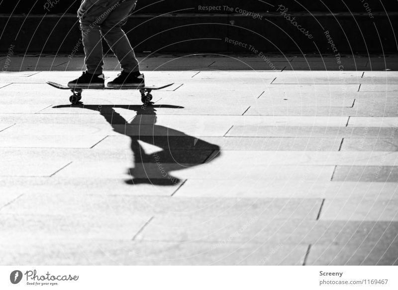 Standhaft Freizeit & Hobby Inline Skating Skateboarding Skateplatz Schuhe Turnschuh Rolle Geschwindigkeit sportlich Freude Selbstbeherrschung Erfolg