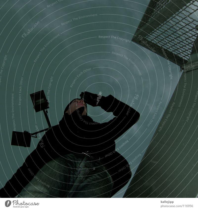 letzter gruss Blick Kapitän Lampe Aussicht Navigation Richtung See Luft Kurort frisch Späher blenden Plattenbau Haus Mieter Selbstmörder springen Freestyle