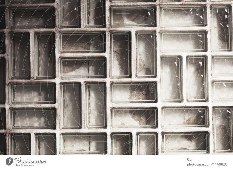 don´t google yourself Haus Wand Architektur Mauer Stein Fassade Glas Wandel & Veränderung Irritation eckig komplex