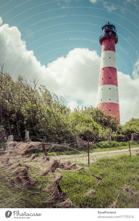 na` Großer Himmel Natur Ferien & Urlaub & Reisen blau Pflanze Sommer Baum Erholung Meer rot Landschaft ruhig Wolken Haus Ferne Umwelt