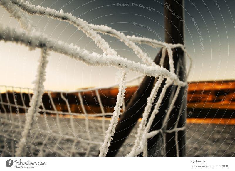 FEUERLAND II Natur schön Himmel weiß Sonne blau rot Winter ruhig Einsamkeit Ferne Farbe Leben kalt Schnee Wiese