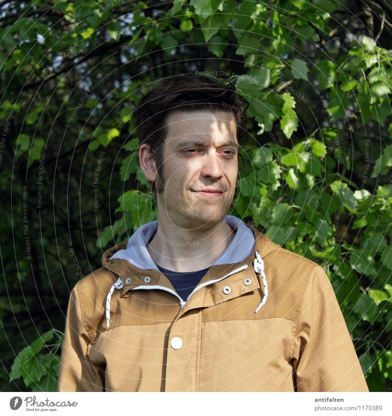 Naturbursche Mensch Ferien & Urlaub & Reisen Mann Baum Wald Erwachsene Gesicht Auge Leben Frühling natürlich Haare & Frisuren Kopf maskulin Körper