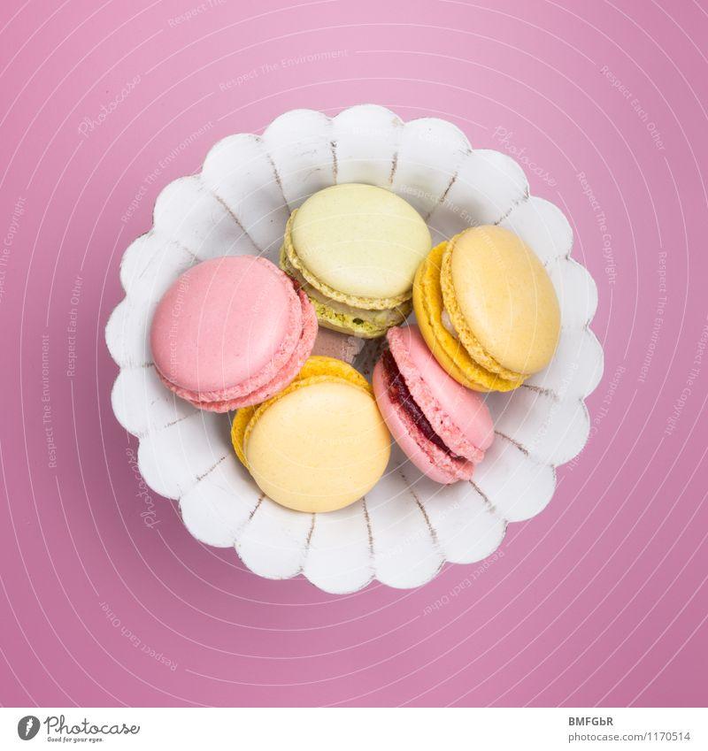 Bitte zugreifen und schmecken lassen. schön Essen Lifestyle Feste & Feiern Lebensmittel Party rosa Geburtstag Fröhlichkeit Ernährung süß Hochzeit Süßwaren Teile u. Stücke trendy Kuchen